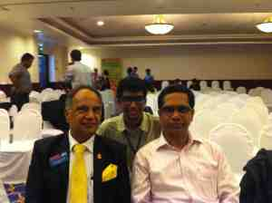 With DTM Deepak Menon, Region 13 Director and DTM Nagaraja Rao, Region Director