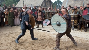 Ragnar is too good at fighting, as he fights Earl Haraldson