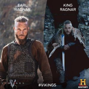 Ragnar never aimed to become a King. He just continued to do what he wanted to do, but ultimately got a chance to become one