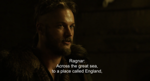 Ragnar convinces his friends and other people to join the raid of England